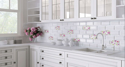Идеи декора стен на кухне