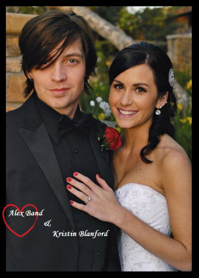 Alex Band and Kristin
