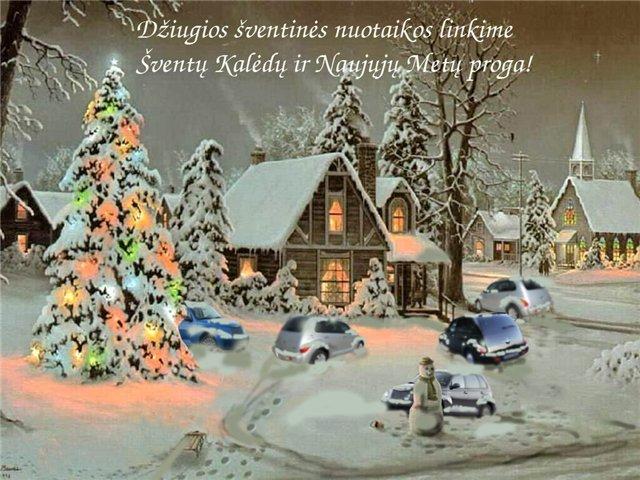 Открытка с католическим Рождеством на польском языке