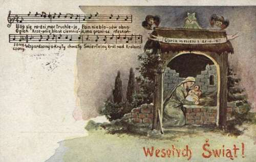 Открытки с Рождеством на польском языке