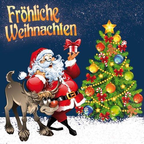 Немецкие открытки с Новым годом и Рождеством
