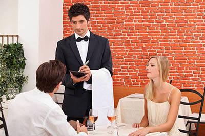 Принятие заказа в ресторане