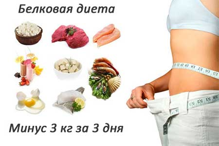 Диета Дюкана этап атака – белковые продукты